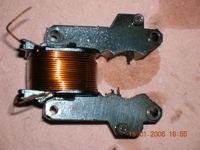 Corps d'actuateur avec de la limaille de fer