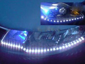 Exemple de montage de la bande LED extra fine