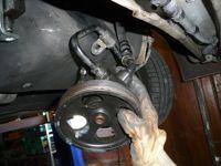 Changement de pompe de direction assistée sur une 306 Diesel